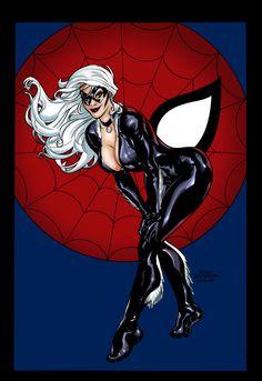 Marvel zwarte kat Porn