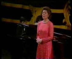 Dame Janet Baker - Schubert's An die Musik Vogue, Opera Singers, Tom Cruise, Female Singers, Dame, Songs, Shit Happens, Youtube, Ciel