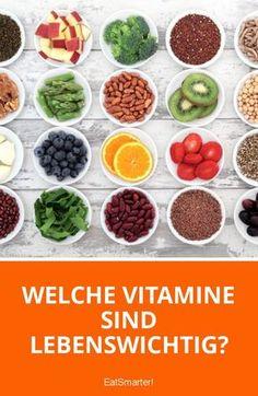 Welche Vitamine braucht unser Körper auf jeden Fall und wofür sind die einzelnen Vitamine gut?
