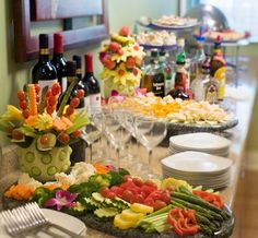 Tampa, Florida Weddings Food Display - Tampa Westshore Marriott Wedding