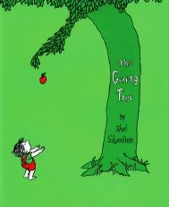 The Giving Tree, Davids favorite book.