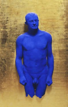 Yves Klein, Portrait Relief of Arman, 1962    •	French Nouveau Realisme  •	The self-mythologized royalist  •	Interested in the index- a direct print of the real. New interest in the concrete.