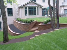 Landscaping On A Slope In Front Yard #landscapinglife