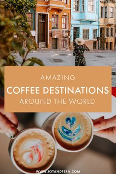 There are so many reasons to travel the world, and coffee is one of them! Coffee is huge for everyone, and there are certain cities and destinations in every continent where the coffee experience is out of this world! Here are some of our favorite destinations every coffee lover must visit! #Travel
