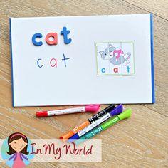 Kindergarten Morning Bins | Tubs | Centers Set 3 - In My World