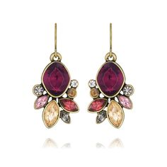 It's never too early to think about autumn colors! These Bouquet Rouge Drop Earrings from Chloe and Isabel come with a lifetime guarantee!