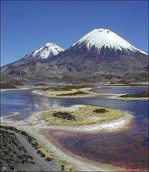 Volcanes de Chile: Volcán parinacota.