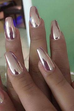 Nail Art Design Ideas | Nail Art | Chrome nail art ideas