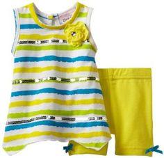 Little Lass Baby-Girls Newborn 2 Piece Short Set, Yellow, 6-9 Months Little Lass. $14.00
