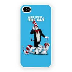 Cat in The Hat iPhone 4/4S and iPhone 5 Cases