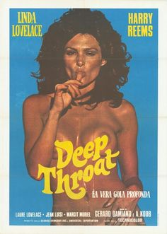 "Vintage 16MM Movie, ""DEEP THROAT"" 1972, 61 Minutes: Porno with a plot. Directed by Gerard Damiano, Stars Linda Lovelace, Harry Reams & Carol Connors. Roger Ebert's review concluded with ""If you have to work this Hard at Sexual Freedom, Maybe it isn't Worth the Effort"". Judge Tyler's Opinion of the Film as ""This Feast of Carrion and Squalor"", ""a nadir of decadence"" & ""a Sodom and Gomorrah gone wild before the fire""."