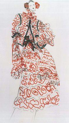 YSL Haute Couture 1977