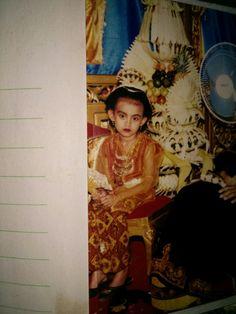A little Javanese girl, yes it's me