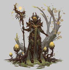 ArtStation - Druids, hyun lee