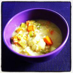 Curry de légumes & riz à l'indienne