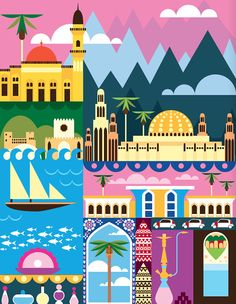 24 hours in MuscatArt and design inspiration from around the world – CreativeRoots