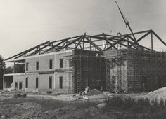Duggan Library Under Construction from the early 1970's