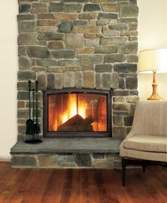 Lightweight cast stones add rustic charm to any hearth, for a fraction of the cost of the real thing