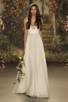 Vestidos de novia corte imperio para 2016: Los diseños más románticos para tu boda Image: 10