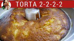Torta de naranja y manzana 2-2-2-2 / Tortas fáciles - Ft. Tenedor libre