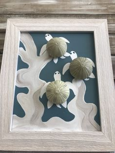 Items similar to Sea turtle Art. on Etsy - Sea turtle Art. Sea Glass Crafts, Sea Crafts, Sea Glass Art, Seashell Art, Seashell Crafts, Sea Turtle Art, Sea Turtles, Baby Turtles, Seashell Projects