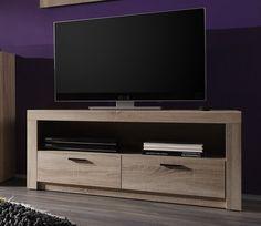 Menší televizní stolek Eleanor 2 / TV cabinet Homestead Living, Tv Cabinets, Fancy, Adjustable Shelving, Homesteading, Storage Spaces, Teak, Solid Wood, Living Room