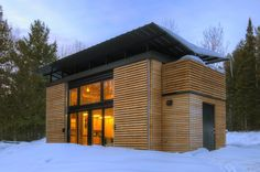 The E.D.G.E. (Experimental Dwelling for a Greener Environment) by Revelations Architects. 340 sf.