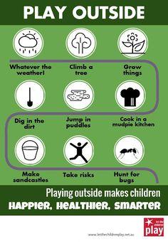 let the children play: Let the children play outside!