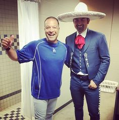 Today is a travel day for the Dodgers, and as is tradition ballplayers are tasked with looking their best when going from town to town.  This often means wearing a suit, but I think Adrián González's duds will work out just fine.  Check out the pic above, tweeted by AGone this morning, of himself wearing some special clothes in anticipation of traveling to Milwaukee later this afternoon.    ****      Dodgers Blue Heaven: Blog Kiosk: 6/27/2016 - Dodgers Links - Sborz, Seager and Adrián…