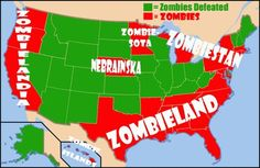 How Prepared Is Your State For The Zombie Apocalypse?