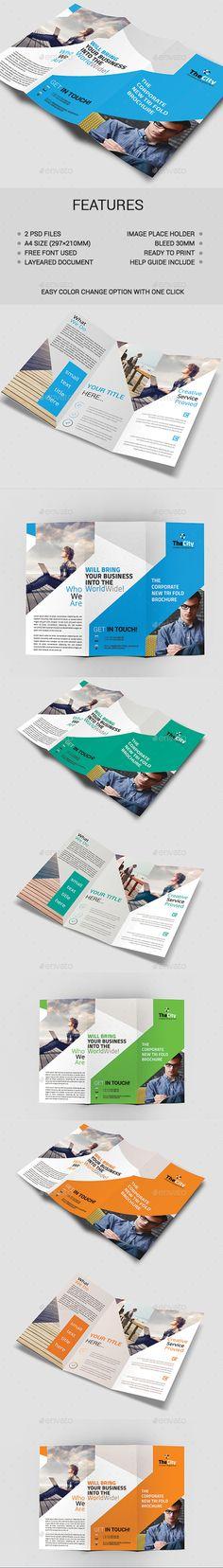 corporate brochure ロゴ クリエイティブ パンフレットのテンプレート