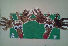 Christmas hands & Foot Reindeer 2013!