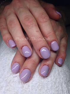 Dark pastel purple, gorgeous set ! / @NailsByThelmaOsk