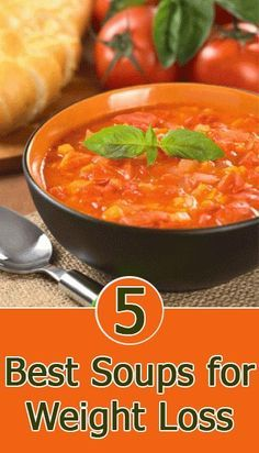 9 Delicious Soups For Weight Loss [ KellysDelight.com ] #dinner #delight #sugar
