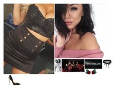 """""""✨Samantha ✨-(FB:) The Shield Debuts (Survivor Series)"""" by banks-on-it ❤ liked on Polyvore featuring Cerasella Milano, WWE, Atelier Swarovski and Boohoo"""