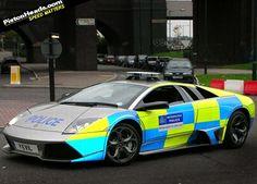 Lamborghini Murcielago of the London police Police Light Bars, British Police Cars, Radios, Rescue Vehicles, Police Vehicles, 4x4, London Police, Unique Cars, Special Forces