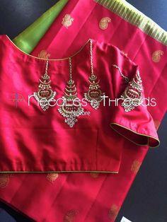 New dress simple summer neckline ideas Best Blouse Designs, Wedding Saree Blouse Designs, Simple Blouse Designs, Silk Saree Blouse Designs, Blouse Neck Designs, Hand Work Blouse Design, Simple Dress Pattern, Maggam Work Designs, Designer Blouse Patterns