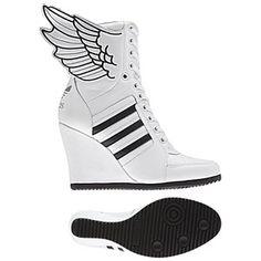 <p> Women's adidas Originals<br /> Jeremy Scott Wings Wedge Hi Shoes</p>