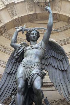 What Is An Artist, Saint Michael, Angel Statues, Orisha, Classical Art, Angel Art, Celestial, Religious Art, Types Of Art