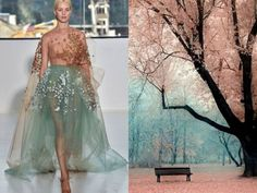 20 Unrepeatable Dresses Based on Sketches of Nature , This is inspired by Liliya Hudyakova, creating stunning collages for the project Fashion & Nature. You may think that these trendy masterpieces really are based on sketches of nature