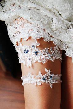 Wedding Garter Set Bridal