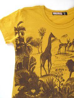 gold T with safari..