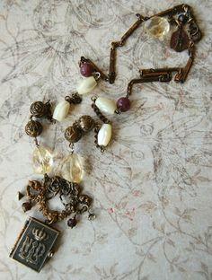 L'Apparition Necklace by GraceOpulente on Etsy, $139.00