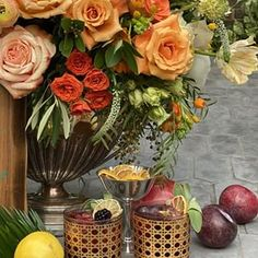 Laura U Interior Design ( Outdoor Tiles, Outdoor Decor, Drink Menu, What Inspires You, Sangria, Apple Cider, Design Inspiration, Lemon Slice, Seasons