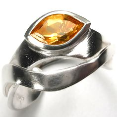 Flame Princess Ring by Chris and Joy Poupazis http://www.fldesignerguides.co.uk/engagement-ring-designer/joy-and-chris-poupazis Yellow Engagement Rings, Unusual Engagement Rings, Designer Engagement Rings, Flame Princess, Wedding Accessories, Heart Ring, Stones, Rocks, Wedding Props