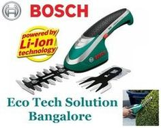 Cordless Shrup Edge Shear:  The new Bosch Isio Cordless Shrub and Edging Shear Set offers, in addition to the standard Isio, both an edging shear blade for accurately cutting the edges of your lawn and a shrub shear blade that enables you to complete perfect topiaries.   http://www.ecotechsolutions.in/bosch-cordless-shear.html#bosch-isio-ii-cordless-shrup-edge-shear-3-6v