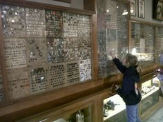 ButtonShop.ca - Grandama Dierker's Button Collection - My grandmother lived in Filer, Idaho and collected thousands of buttons over the years. Eventually an aunt finished off the collection and donated it to Knott's Berry Farm, where it's still on display.