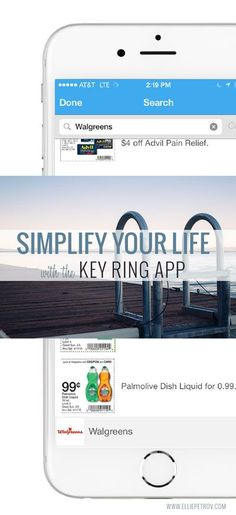 Simplify Your Life with the Key Ring App: Save Money, Time, and Space in your Wallet and on your Keychain (+ a $50 iTunes or Google Play Gift Card giveaway)