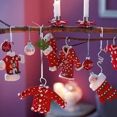cute knitted ornaments