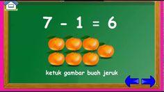 Belajar Pengurangan angka untuk anak cerdas